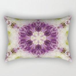 Chrysanthemum Kaleidoscope Rectangular Pillow