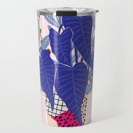Alocasia Vase | Digital Travel Mug