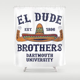 Peep Show - El Dude Brothers Shower Curtain