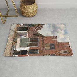 Johannes Vermeer - The Little Street Rug