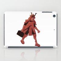 samurai iPad Cases featuring Samurai by edusá studio