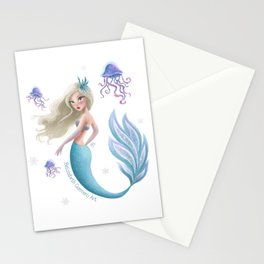 Winter Mermie Stationery Cards