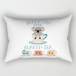 Koala-Tea Rectangular Pillow