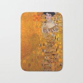 THE LADY IN GOLD BLOCH BAUER - GUSTAV KLIMT Bath Mat
