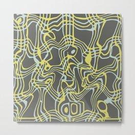 Surreal pattern vi Metal Print