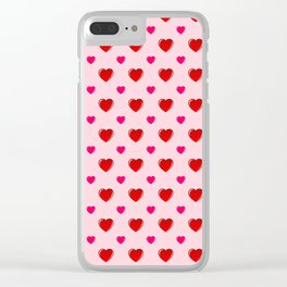 Valentine's Day Clear iPhone Case