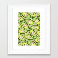 avocado Framed Art Prints featuring Avocado by Colocolo Design | www.colocolodesign.de