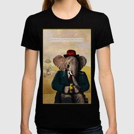 Mr. Preston J. Pachyderm visits the Sphinx T-shirt