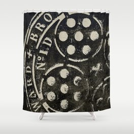 Manhole Cover 2 Shower Curtain