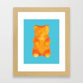 Gummy Bear Polygon Art Framed Art Print