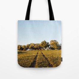 Country Driveway Tote Bag