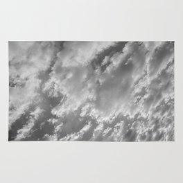 """SkyFall"" Cloud Art by Murray Bolesta! Rug"