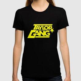 Wiz Khalifa Taylor Gang Weed Squad Steelers Fob Star Hip Hop Squad T-Shirts T-shirt