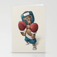 ali gulec Stationery Cards featuring Ali by clogtwo