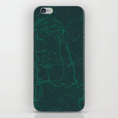Contour Mapping v.1 iPhone & iPod Skin