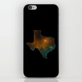 Texas StarStuff iPhone Skin