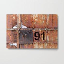 Rusty91 Metal Print