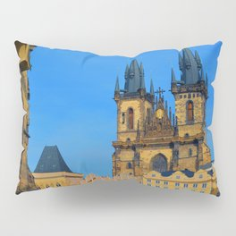Prague Astronomical Clock Pillow Sham