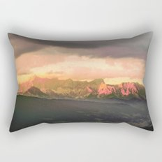 Escaping  -  Mountains - Dachstein, Austria Rectangular Pillow