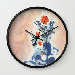Hot Air Ballooning over the Baltic Wall Clock