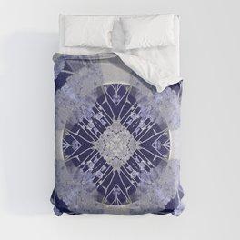 Microchip Mandala in Purple Comforters
