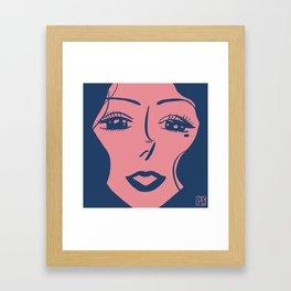 Kiss Me? Framed Art Print