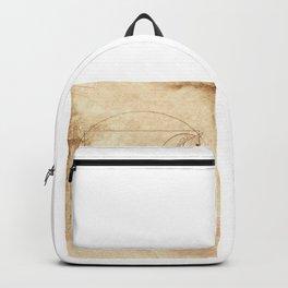 Da Vinci Horse In Piaffe Backpack