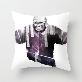 big animal Throw Pillow