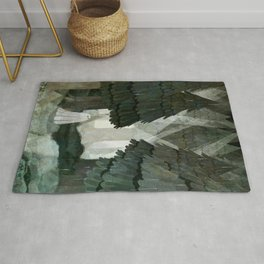 Pine Forest Clearing Rug