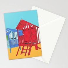 Thoughts of Summer // Beach Huts Stationery Cards
