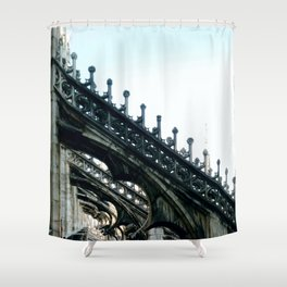 Stone Lace Shower Curtain