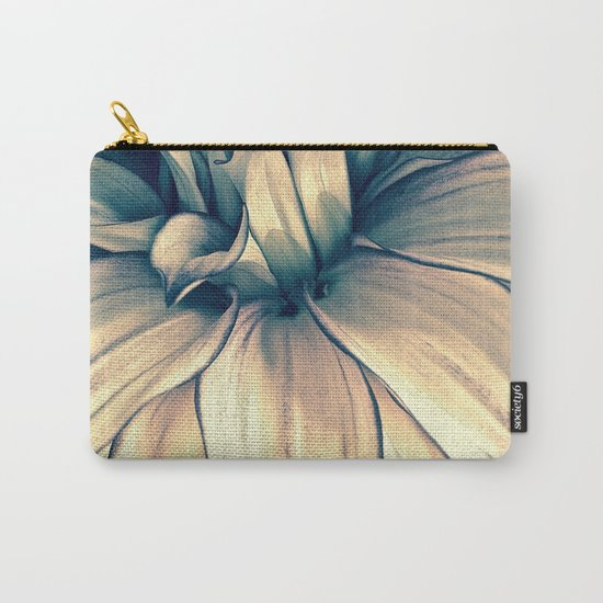 Faded Dahlia Carry-All Pouch