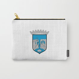 flag of trondheim Carry-All Pouch