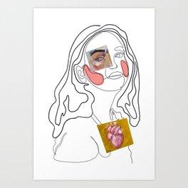 Caras  Art Print