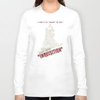 dragon age inquisition Long Sleeve T-shirts featuring Inquisition by PsychoBudgie