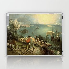 Landscape with the Fall of Icarus - Pieter Bruegel Laptop & iPad Skin