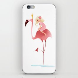 Flamingo iPhone Skin