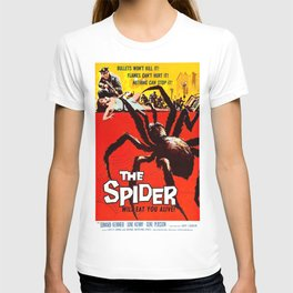 The Spider, vintage horror movie poster 1950 T-shirt
