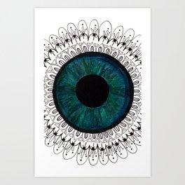Eye of Cecile  Art Print