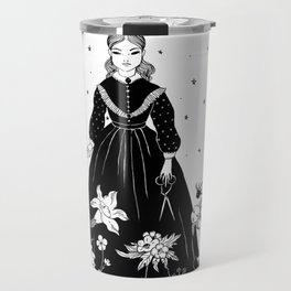 moon garden Travel Mug