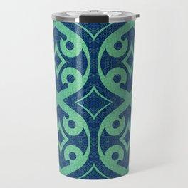 Healing Geometric Travel Mug
