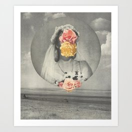 prairie wedding Art Print