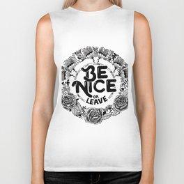Be Nice Biker Tank