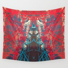 FX#505 - Kryptonian Oblongated Lines Wall Tapestry