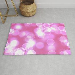 Pink Bokeh Rug