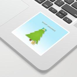 Christmas motif No 3 Sticker