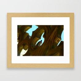 La Seu Vella Paloma Framed Art Print