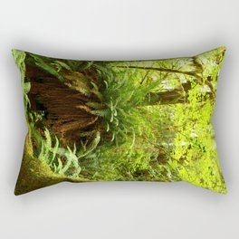 Rainforest Ferns Rectangular Pillow
