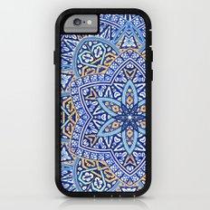Blue Morocco Tile Mandala Adventure Case iPhone 6s