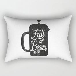 Full Of Beans Rectangular Pillow